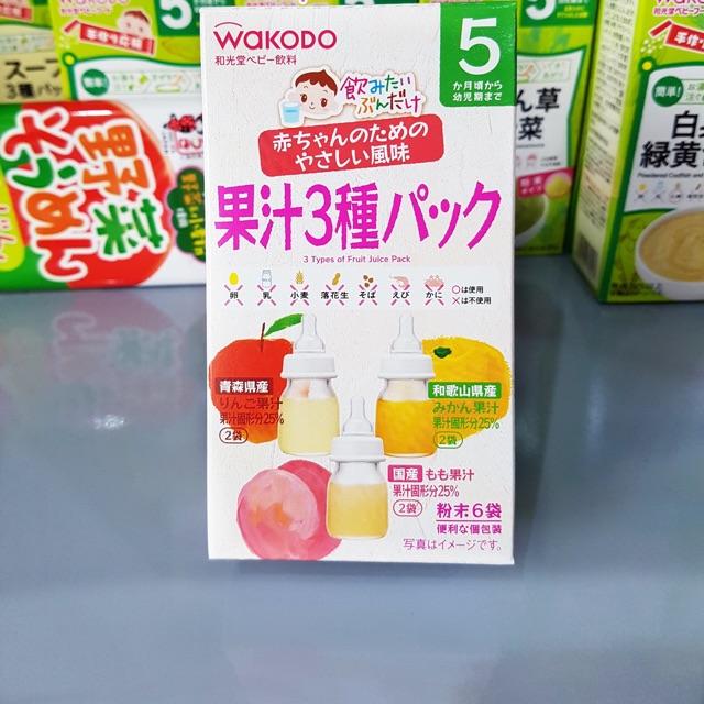 Trà hoa quả wakodo ( date 8/2020)