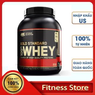 Sữa Tăng Cơ Whey Protein GOLD STANDARD ON 5Lbs - 2,3kg (76 servings) Phát Triển Cơ Bắp Tối Ưu, Nhập USA 100% (Freeship) thumbnail