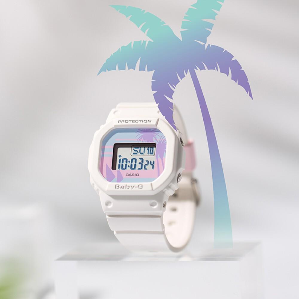 Đồng hồ nữ dây nhựa Casio Baby-G chính hãng Anh Khuê BGD-560BC-7DR