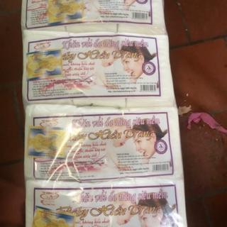 Combo 10 gói khăn giấy đa năng Hiền Trang túi zip