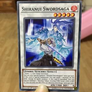 """Quái thú Synchro """"Shiranui Swordsaga"""""""