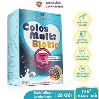 Sữa non cho trẻ táo bón, tiêu chảy, tiêu hóa kém - Sữa bột Mama Sữa Non Colos Multi Biotic Hộp 416g thumbnail