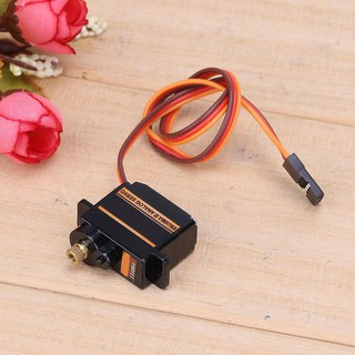 🍒better🍒Mini Size Metal Gear Analog Servo ES08MA II for RC Motor Replacement Part