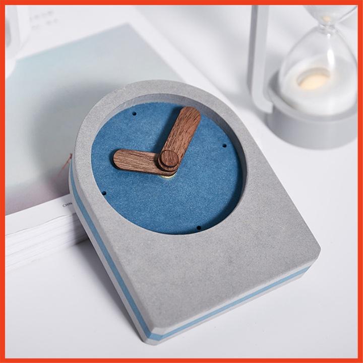 Đồng Hồ Điện Tử Để Bàn Màu Đen Hình Chữ Nhật Tặng Kèm Pin