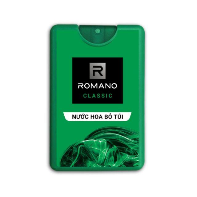 Nước hoa cao cấp dành cho nam Romano Classic 18ml