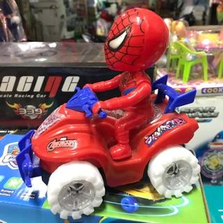 🎉💥Xe nhện chạy bằng pin