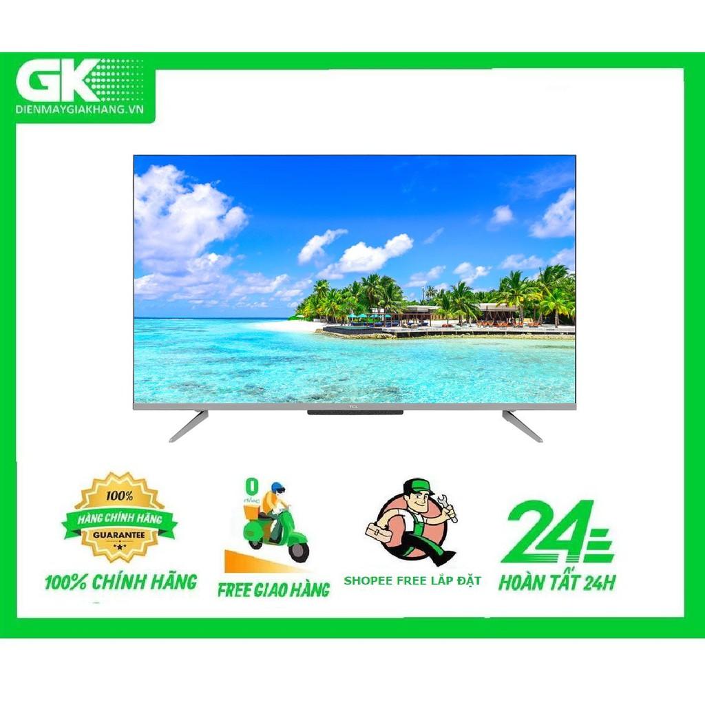 43P715 - MIỄN PHÍ CÔNG LẮP ĐẶT - Android Tivi TCL 43 inch 43P715 Mới 2020
