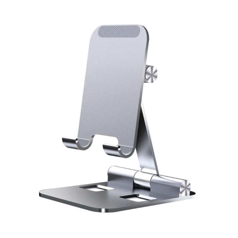 Giá đỡ điện thoại / máy tính bảng để bàn bằng hợp kim nhôm tùy chỉnh cao cấp tiện lợi dễ sử dụng