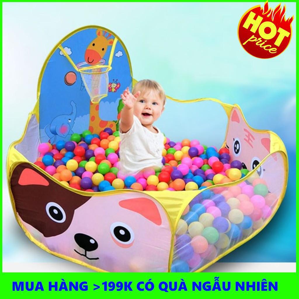 [ Giá Rẻ Nhất ]  Nhà banh trẻ em + 30 bóng đi kèm