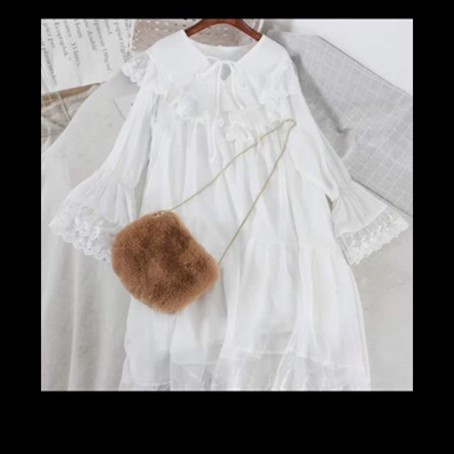 Đầm trắngg