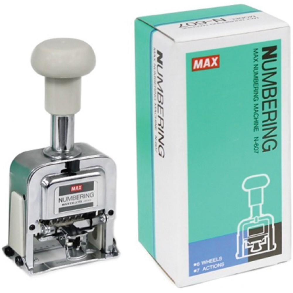 Máy đóng số nhảy tự động MAX N607 -  N807 -  N1007