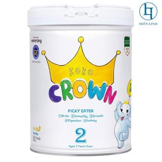 Sữa bột dinh dưỡng KOKO CROWN cho trẻ biếng ăn Picky Eater 2 từ 24 tháng trở lên 800g hộp