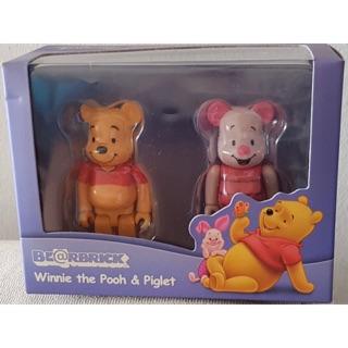 Bearbrick Pooh & Piglet 100%