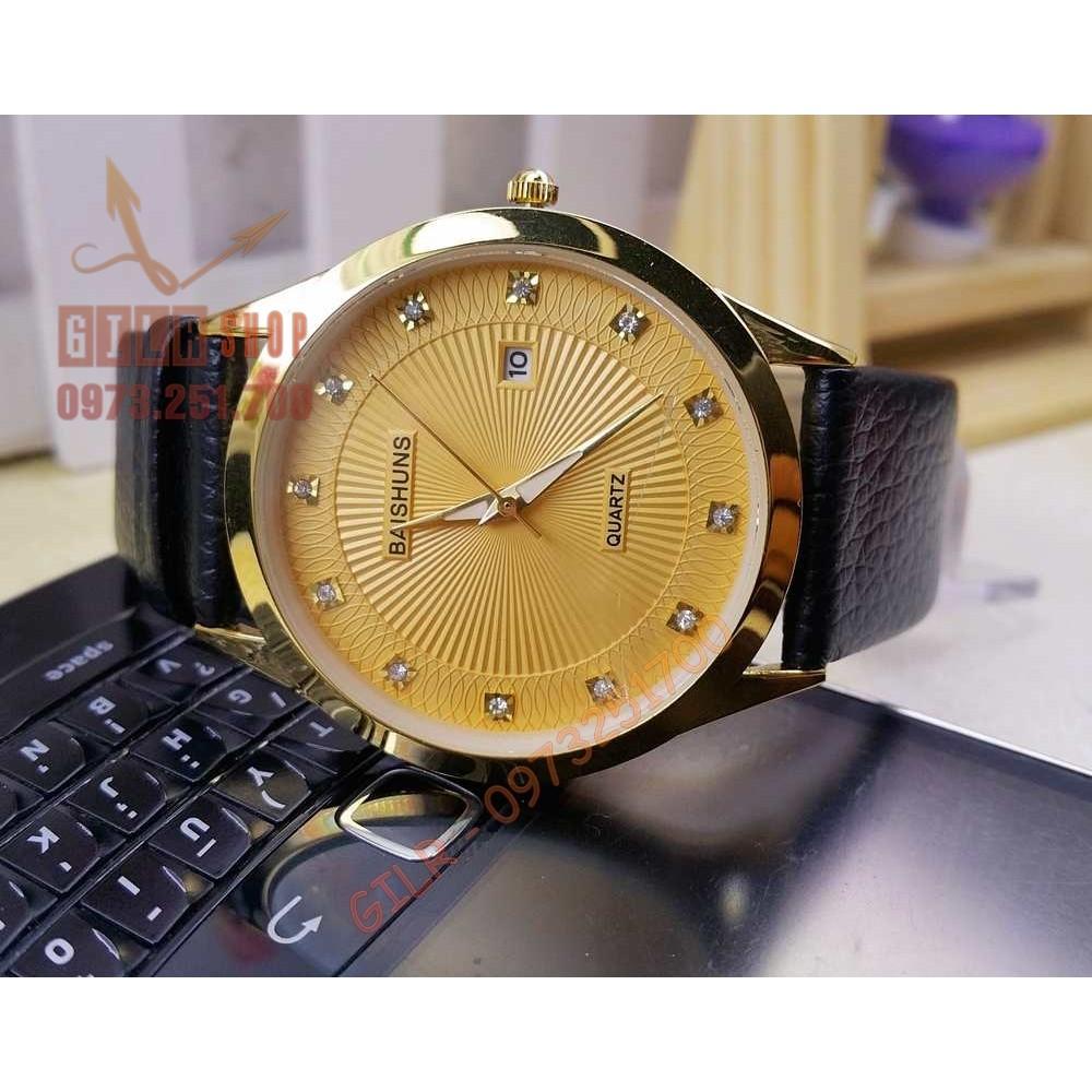 Đồng hồ nam BAISHUN : Mạnh mẽ