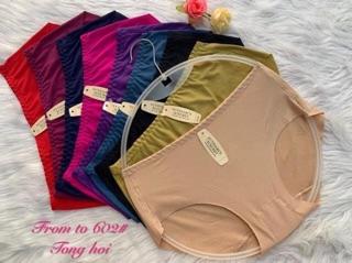 quần lót su đúc không đường may, chất su thông hoie mát lịm sz 40-65kg mặc được chỉ 130k 1 lố 10 quần thumbnail