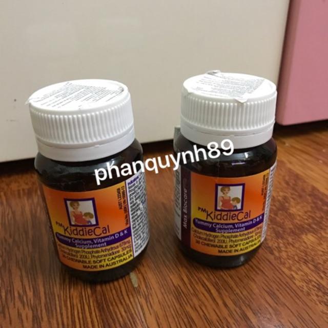 KiddieCal - Viên nhai bổ sung canxi, photpho, vitamin D3, K1 - 2626179 , 279831590 , 322_279831590 , 255000 , KiddieCal-Vien-nhai-bo-sung-canxi-photpho-vitamin-D3-K1-322_279831590 , shopee.vn , KiddieCal - Viên nhai bổ sung canxi, photpho, vitamin D3, K1