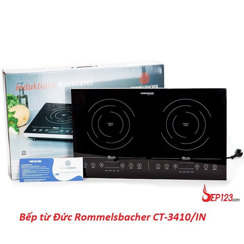 Bếp từ Đức Rommelsbacher CT-3410/IN giá rẻ, hàng chính hãng, bảo hành 24 tháng