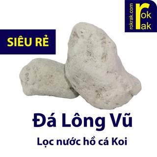 Nham Thạch Trắng 1KG - Đá Lông Vũ TURKEY vật liệu lọc hồ cá thumbnail