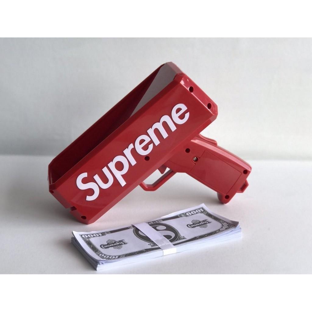 Súng Bắn Tiền Supreme Full Box Tặng Kèm Tập Tiền Dolar