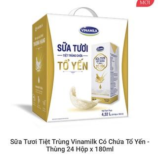 Sữa tươi Vinamilk chứa Tổ Yến cao cấp mới thùng 24h(6 lốc)