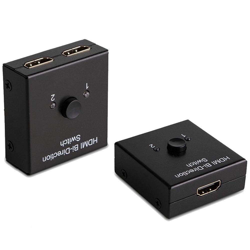 New Arrivials Fosmon 2x1 1x2 Ultra 4K Bi Direction HDMI 2.0 Switch Switcher Hub HDCP 3D 1080p