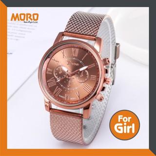 Đồng hồ unisex Geneva Platinum - dây inox hoặc dạng lưới