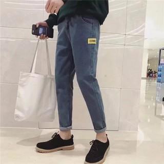 quần bò nam k02 xanh
