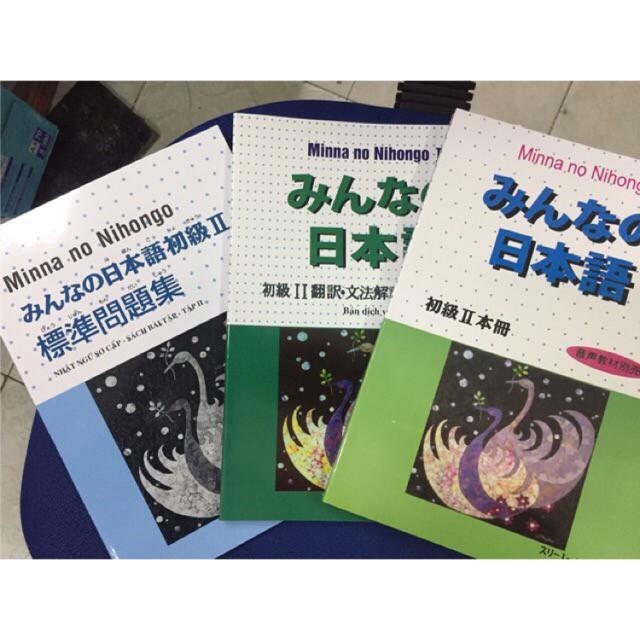 sách Combo bộ Minano Nihongo 2 - Giao trình học tiếng Nhật