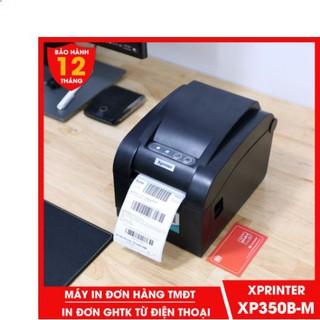 Máy in Xprinter 350BM in đơn hàng GHTK bằng điện thoại qua wifi, in tem nhãn và phiếu giao hàng các sàn TMĐT