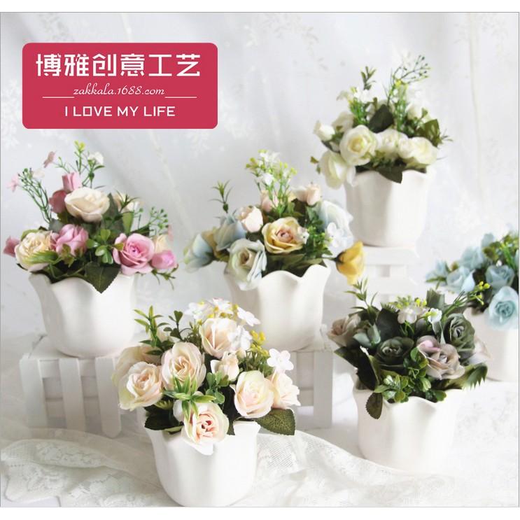 Hoa giả hoa lụa hoa để bàn - hoa hồng lụa cao cấp - 2995864 , 181584282 , 322_181584282 , 175000 , Hoa-gia-hoa-lua-hoa-de-ban-hoa-hong-lua-cao-cap-322_181584282 , shopee.vn , Hoa giả hoa lụa hoa để bàn - hoa hồng lụa cao cấp
