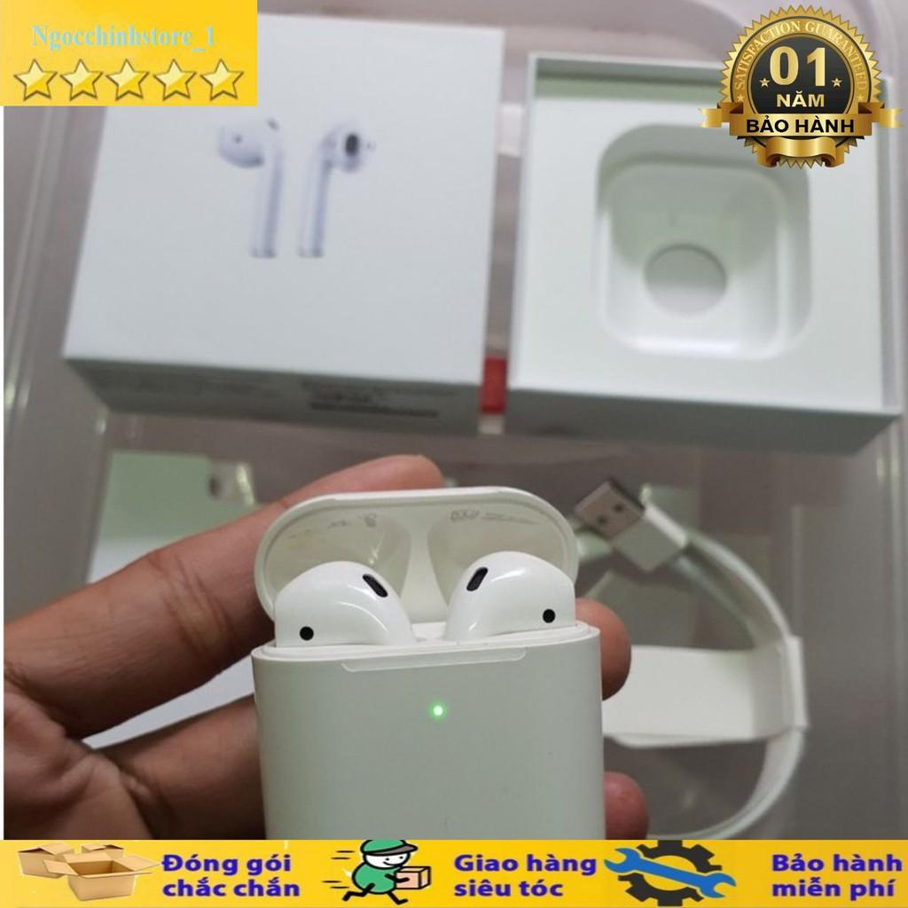 AIRPODS 2] Tai Nghe Bluetooth Bản Mới Nhất Jerry/Louda Đổi Tên ✓Định Vị  ✓Sạc Không Dây - BH 12 Tháng - Tai nghe Bluetooth nhét Tai