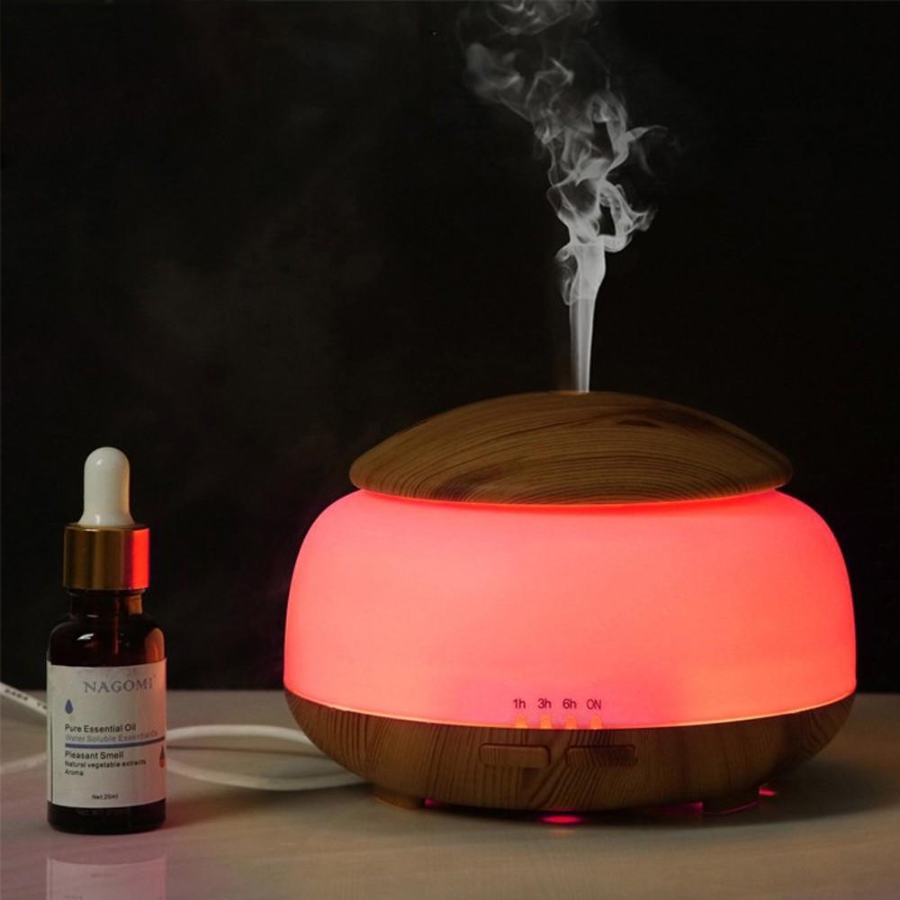Máy xông tinh dầu OME có chức năng hẹn giờ tắt, Thay thế đèn ngủ tiện lợi phun sương mạnh - Tặng tinh dầu dùng thử.