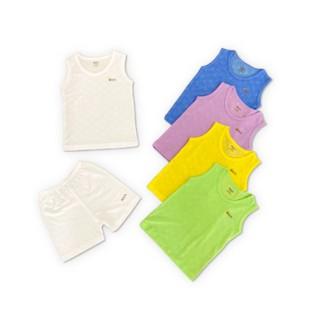 Bộ quần cộc áo ba lỗ cho trẻ em – Arich vải sợi tre thông khí – Hàng chính hãng công ty