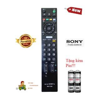 [Mã ELFLASH5 giảm 20K đơn 50K] Điều khiển Tivi Sony RM-716A LCD/LED SMART TV OLED- Hàng tốt 100% Tặng kèm Pin