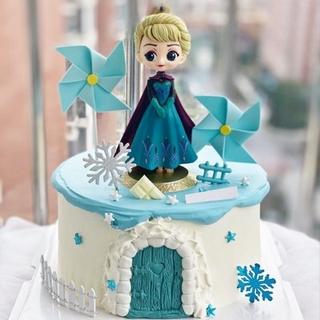 Tượng Nhựa Trang Trí Bánh Kem Hình Công Chúa Elsa thumbnail