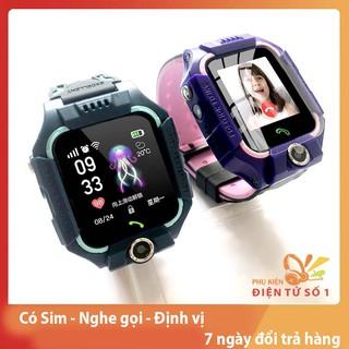 Đồng hồ thông minh trẻ em Q18 [ tặng 10 bút chì] đồng hồ thông minh kết nối GPS, nghe gọi, có sim, pin tốt