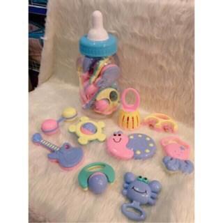 Bộ đồ chơi xúc xắc hình bình sữa 9 chi tiết cho bé yêu - 14729654 , 2192054640 , 322_2192054640 , 99000 , Bo-do-choi-xuc-xac-hinh-binh-sua-9-chi-tiet-cho-be-yeu-322_2192054640 , shopee.vn , Bộ đồ chơi xúc xắc hình bình sữa 9 chi tiết cho bé yêu