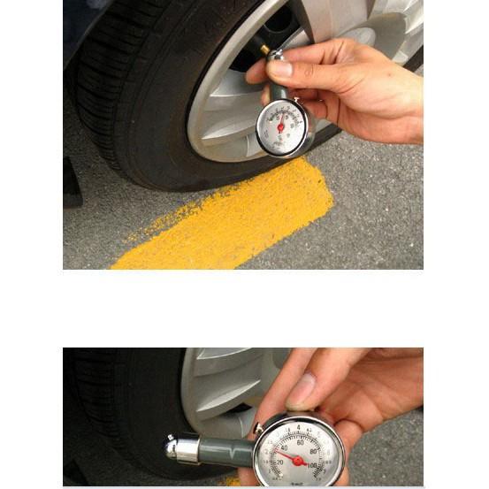 Máy đo áp suất lốp xe hơi cầm tay - 4566 Nhập khẩu chất lượng