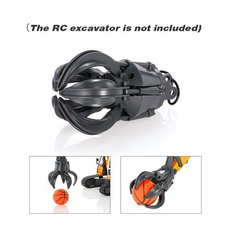 Double E E561-003 Gripper with Mini Basketball Toy for RC Electric Excavator I29