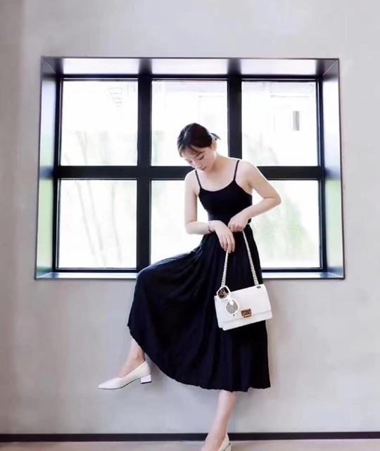 Túi xách nữ da mềm khoá gập vuông sang chảnh MICOMI - Túi đeo chéo nữ phối khoá gài Hottrend phong cánh sang trong