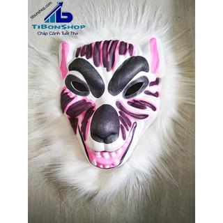 Halloween Mặt Nạ Thú Xốp-sói hung ác