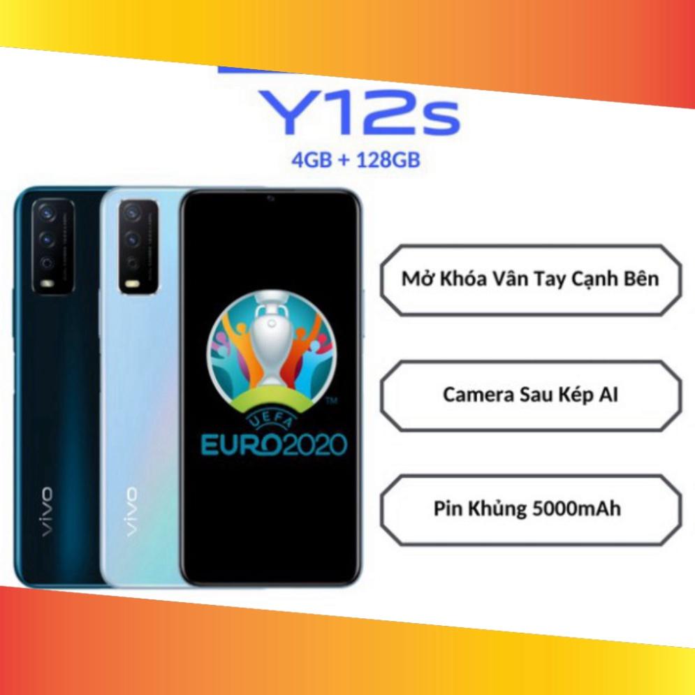Điện thoại Vivo Y12s (4GB + 128GB) Fullbox Nguyên Seal Chính Hãng VY12S  Smartphone Rẻ-Đẹp - Khác