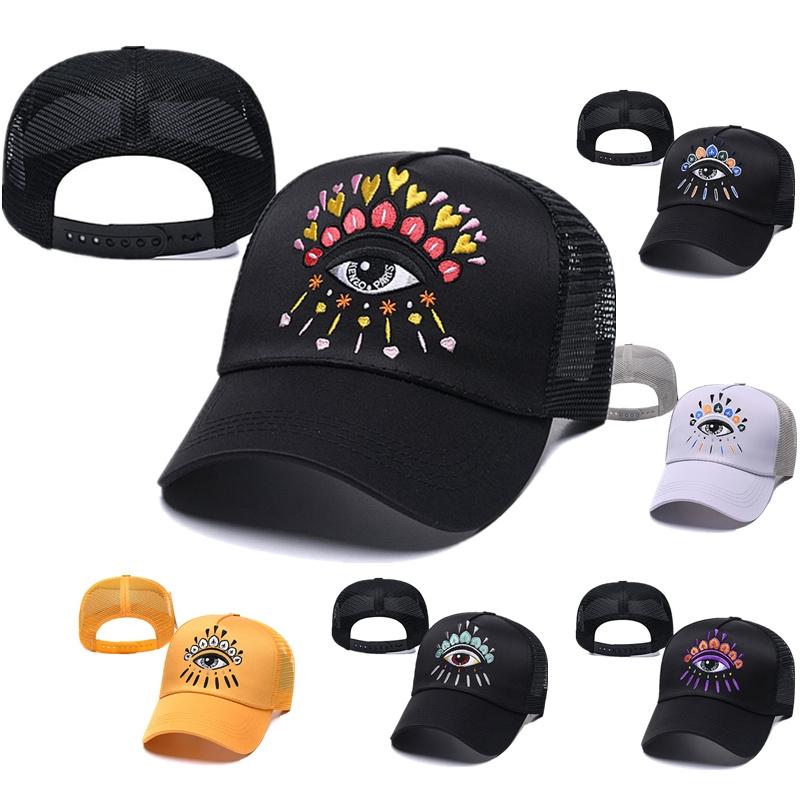 Mũ lưỡi trai thời trang Kenzo Mũ lưỡi trai Mũ lưỡi trai Bóng chày Mũ bóng đá Phong cách Hàn Quốc