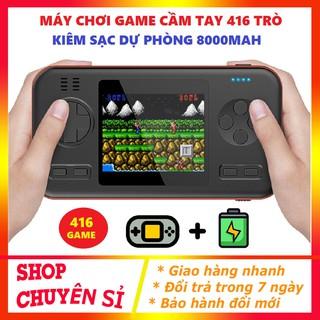 Máy chơi game Sạc dự phòng Máy chơi game cầm tay - 416 game in 1 dung lượng pin cực lớn 8000mah thumbnail