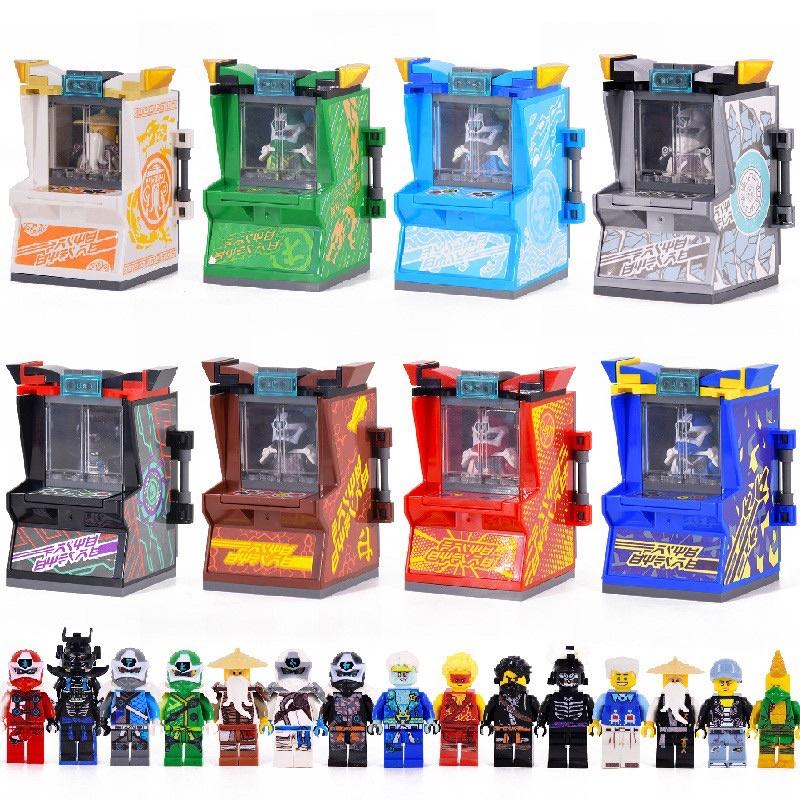[NINJAGO] ARCADE POD – SEASON 12 – LEGO NINJAGO (Tặng 03 Key-Tanas)