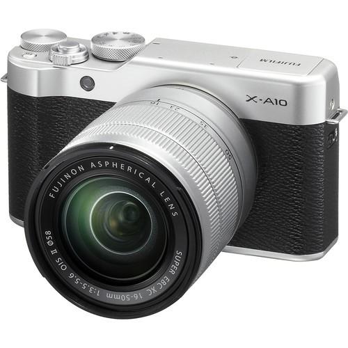 Máy ảnh Fujifilm X-A10 kèm lens kit 16-50mm II (Hàng chính hãng) tặng kèm thẻ nhớ 16gb - 3150252 , 532590045 , 322_532590045 , 9090000 , May-anh-Fujifilm-X-A10-kem-lens-kit-16-50mm-II-Hang-chinh-hang-tang-kem-the-nho-16gb-322_532590045 , shopee.vn , Máy ảnh Fujifilm X-A10 kèm lens kit 16-50mm II (Hàng chính hãng) tặng kèm thẻ nhớ 16gb