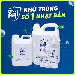 Nước Diệt khuẩn DR.fuji-diệt 99,9% vi khuẩn can 5L,nước diệt khuẩn, nước rửa rau quả, tặng chai xịt 250ml
