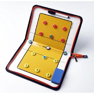 Volleyball Coach Strategy Board Magnetic Tactic Board with Marker Pieces