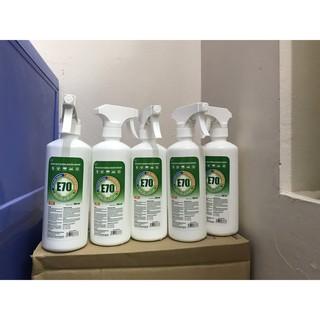 Dung dịch rửa tay khô sát khuẩn và xịt rửa bề mặt TM CARE E70 500ml