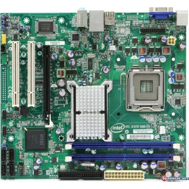 Bo mạch chủ Intel DG41RQ G41 Socket LGA775 ĐR2 hàng phòng lạnh đẹp leng keng